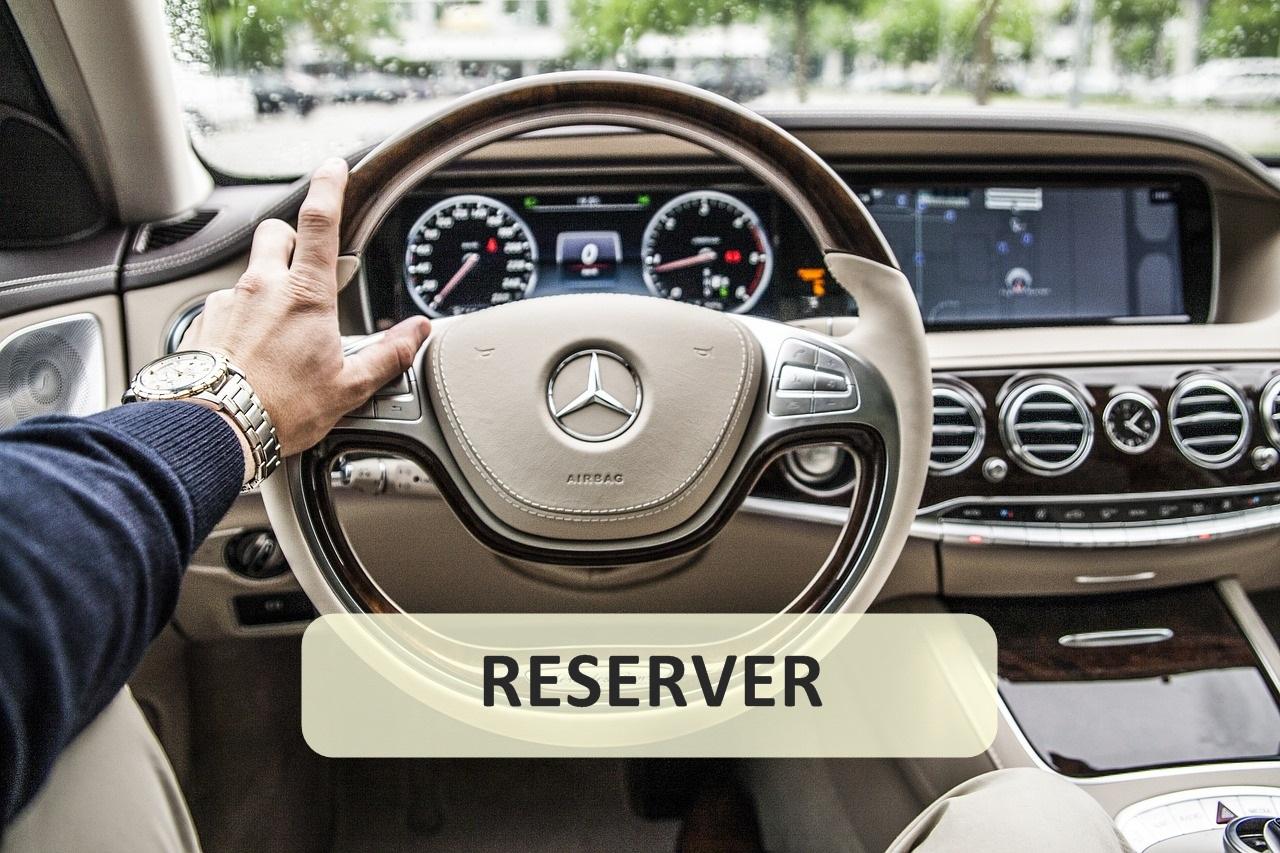 chauffeur privé à disposition réserver