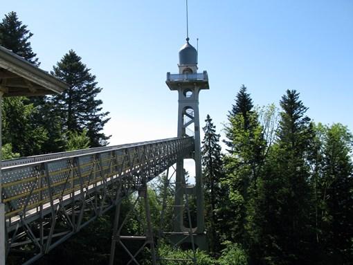 Tour panoramique de Chaumont randonnée