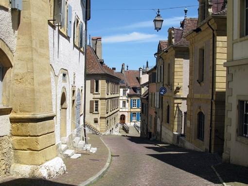 Neuchâtel rue du Pommier