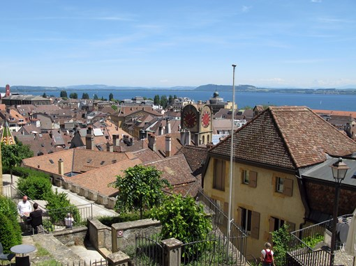 Excursion Neuchâtel vue sur les toits