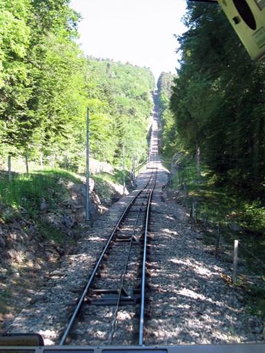 Neuchâtel Chaumont rail funiculaire