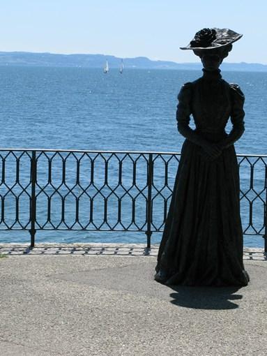 Neuchâtel promenade bord du lac