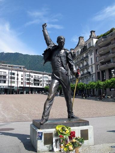 Montreux statue de Freddie Mercury