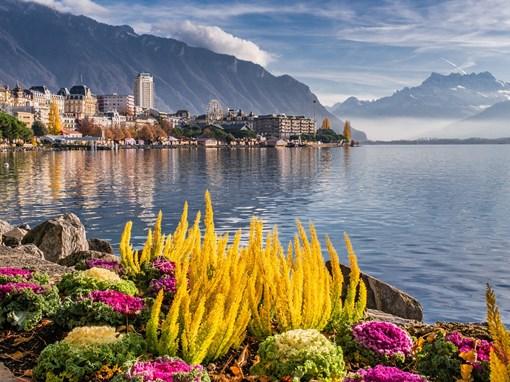 Bord du lac Montreux
