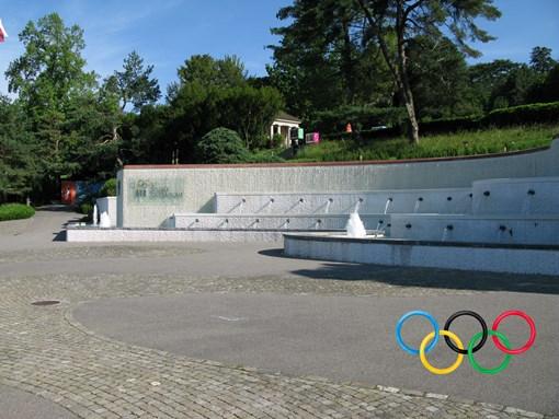 Visite du musée olympique