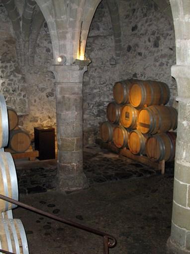 Cave du chateau de Chillon