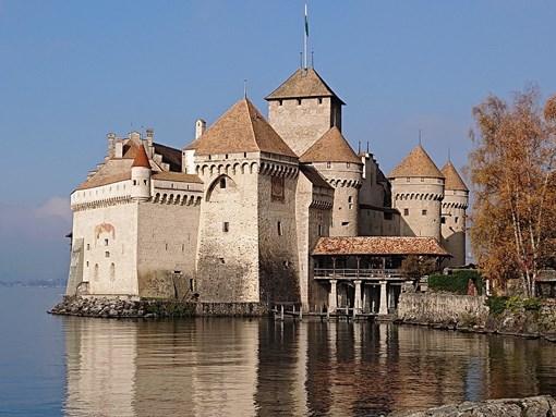 Tour au chateau de Chillon